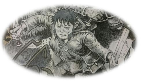 Shire Runner A Halfing Woodsman Goblins Henchman